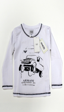 ДM119-060 Футболка Armani Junior