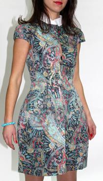 ПЕ-355 Платье Alexander Mcqueen